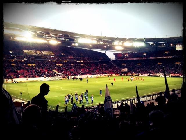 Das Neckarstadion in Stuttgart.