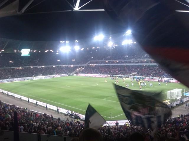 Gästeblock: Hannover 96 vs. Hertha BSC